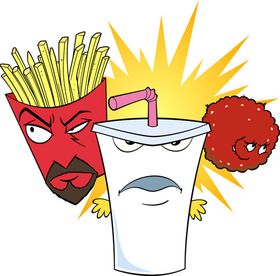 ATHF / Aqua Teen Hunger Force [s01-010] (2000-2013) DVDrip,WEB-DL