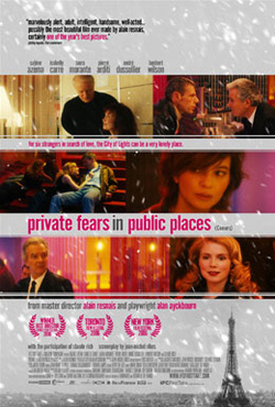 Private Fears In Public Places - Alain Resnais