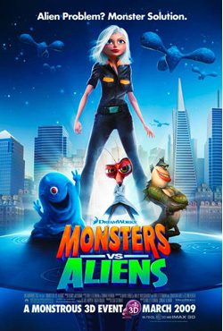 Monsters vs Aliens - Rob Letterman;Conrad Vernon