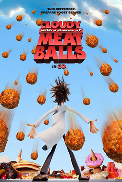 Cloudy with a Chance of Meatballs - Phil Lord;Christopher Miller