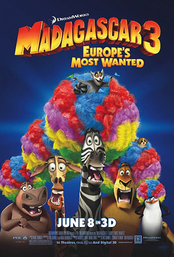 Madagascar 3: Europe's Most Wanted - Eric Darnell;Tom McGrath;Conrad Vernon