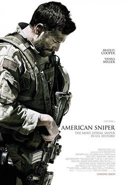 Amerikāņu snaiperis - Clint Eastwood
