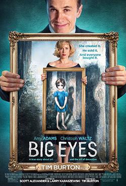 Большие глаза - Tim Burton
