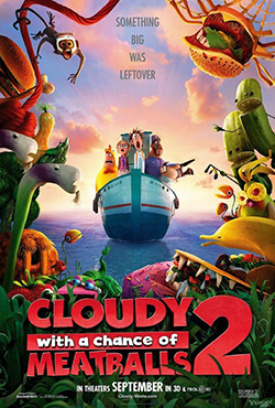 Cloudy with a Chance of Meatballs 2 - Cody Cameron;Kris Pearn
