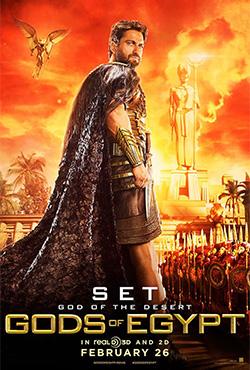 Ēģiptes dievi - Alex Proyas