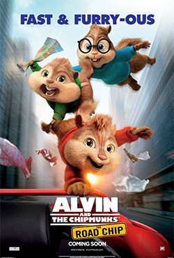 Alvins un burunduki: Diženais burunduļojums - Walt Becker