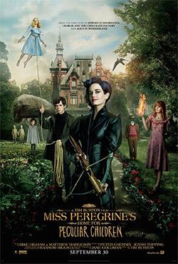 Mis Peregrīnas nams brīnumbērniem - Tim Burton