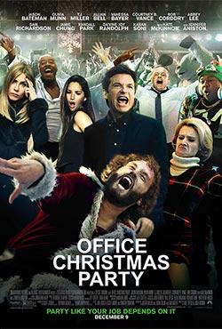 Trakā Ziemassvētku ballīte birojā - Josh Gordon;Will Speck