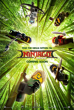 Lego Ninjago filma - Charlie Bean;Paul Fisher;Bob Logan