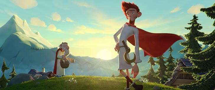 Asteriks: Brīnumdziras noslēpums - Guillaume Briat , Alex Lutz